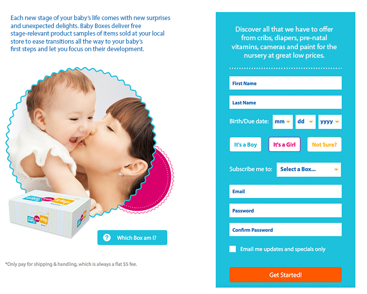 Baby Box Subscription Program