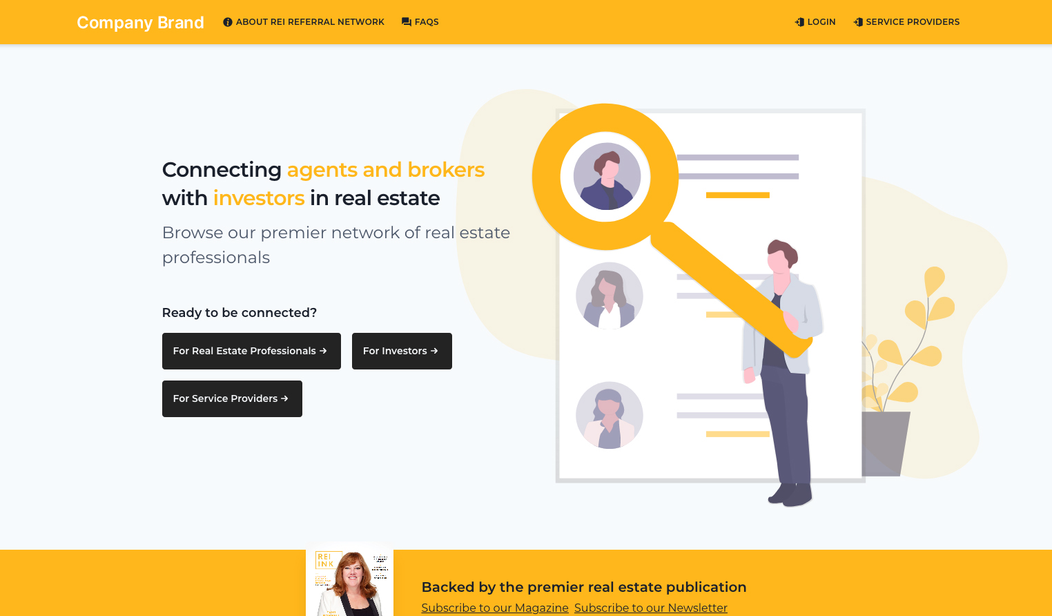 Real Estate Networking Platform