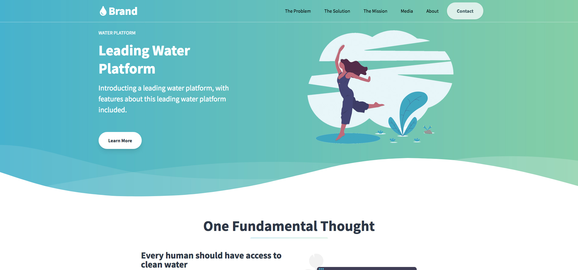 Water Marketing Page